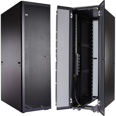 "IBM Static - - 42U - 19"" - for System x3620 M3 x3950 X5 Rack - Zwart"
