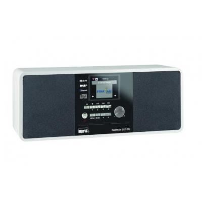 Imperial CD-radio: DABMAN i200 CD - Zwart, Wit