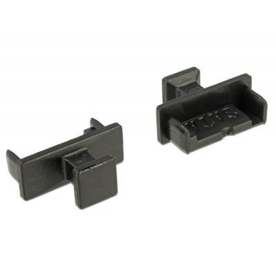 Delock fitting-cove: Staubschutz für SATA 7 Pin Stecker mit - Zwart
