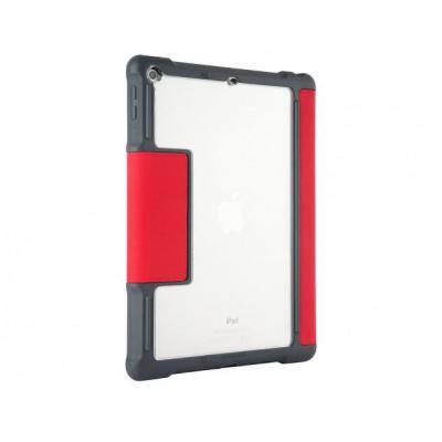 STM Dux Tablet case - Rood, Transparant