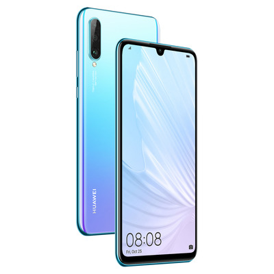 Huawei P30 lite New Edition Smartphone - Blauw,Cyaan,Violet 256GB