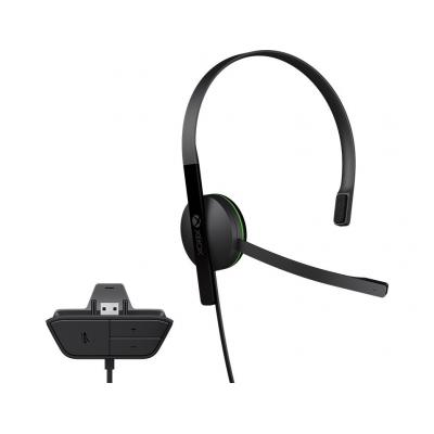 Microsoft headset: Xbox One Chat Headset - Zwart