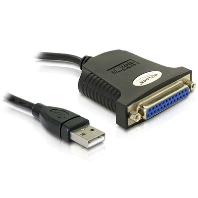 DeLOCK USB 1.1 parallel adapter Paralelle kabel