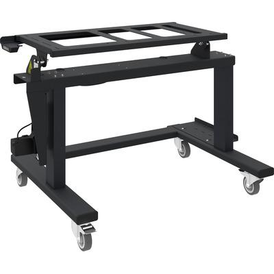 SmartMetals Tip & Touch statief voor rolstoelgebruikers (H= 844- 1504mm) TV standaard - Zwart