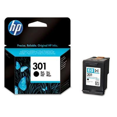 Hp inktcartridge: 301 originele zwarte inktcartridge