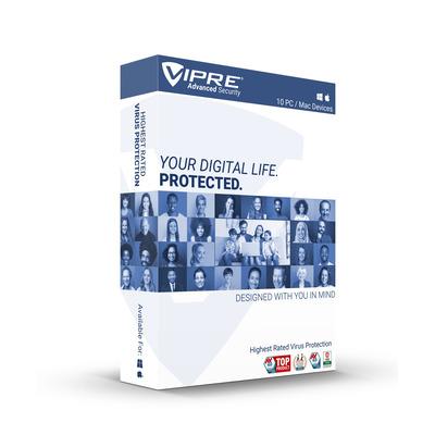 GFI Vipre Advanced Security (10 apparaten/1 jaar) Engels - Windows/MAC download Mobiele telefoon behuizingen