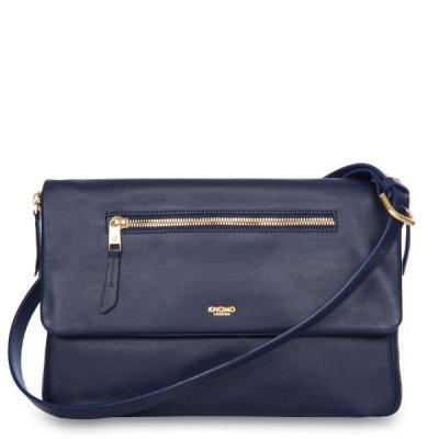 Knomo vrouwen-handtas: Digital Clutch Bag - Navy