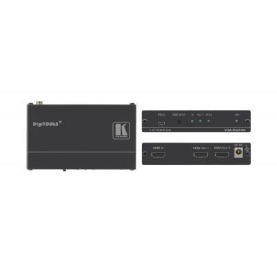 Kramer Electronics Kramer VM-2UHD Distr. Versterker Video-lijnaccessoire - Zwart