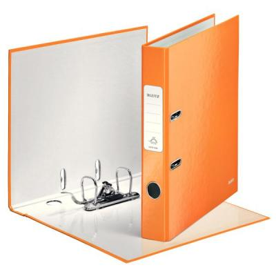 Leitz ringband: 180° WOW Gelamineerde Ordner - Oranje