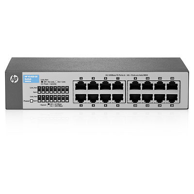 Hewlett Packard Enterprise V 1410-16 Switch - Grijs
