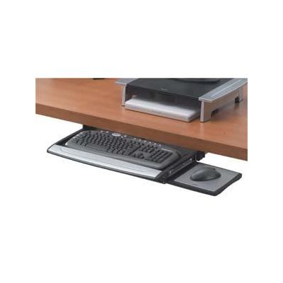 Fellowes accessoire : Deluxe Keyboard Drawer w/Soft touch Wrist Rest