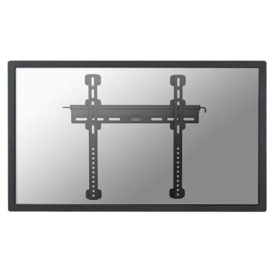 """Newstar montagehaak: De PLASMA-W040BLACK is een vlakke wandsteun voor flat screens t/m 52"""" (132 cm). Incl. ....."""