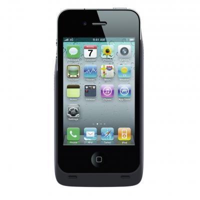 ZENS Wireless Charging Sleeve voor de Apple iPhone 4/4S Mobile phone case - Zwart