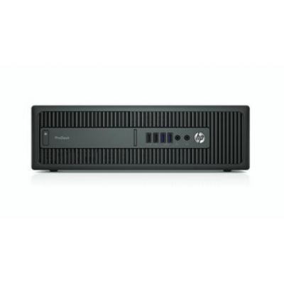 Hp pc: ProDesk 600 G2 SFF - Intel Core i5 - 256GB SSD - Zwart