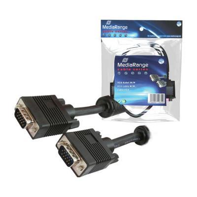 Mediarange VGA kabel : MRCS106 - Zwart