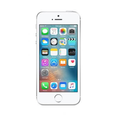 Apple smartphone: iPhone SE 64GB Silver - Zilver, Wit (Refurbished LG)