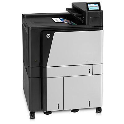 HP LaserJet M855x+ NFC/Wireless Direct Laserprinter - Zwart,Wit