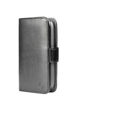 Doro mobile phone case: Leather wallet for Liberto 810 - Zwart