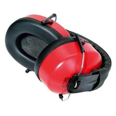 Toolpack gehoorbeschermer: Foldable, PU Foam - Zwart, Rood