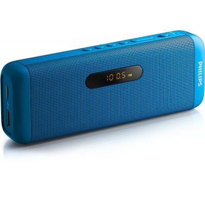 Philips draagbare luidspreker: draadloze draagbare luidspreker - Blauw
