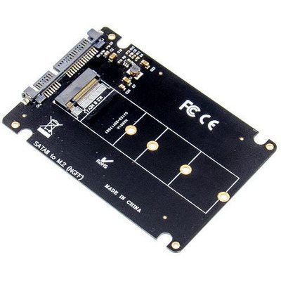 Microconnect MC-SSDSATACONV1 Interfaceadapter - Zwart