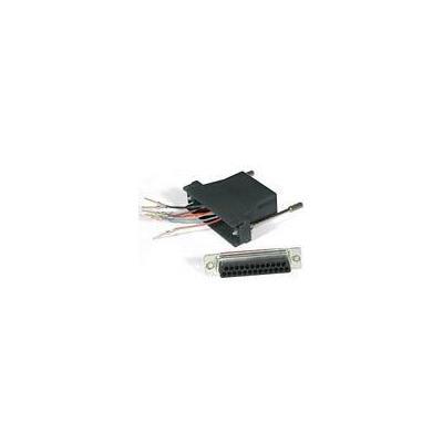 C2G RJ45/DB25M Modular Adapter Kabel adapter - Zwart