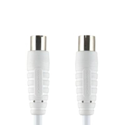 Bandridge BVL8807 Coax kabel - Wit