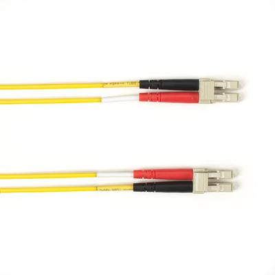 Black Box LC-LC, LSZH, Yellow, OM3, Multimode, 3 m Fiber optic kabel