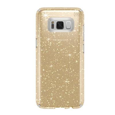 Speck Presidio Clear + Glitter Mobile phone case - Goud, Transparant