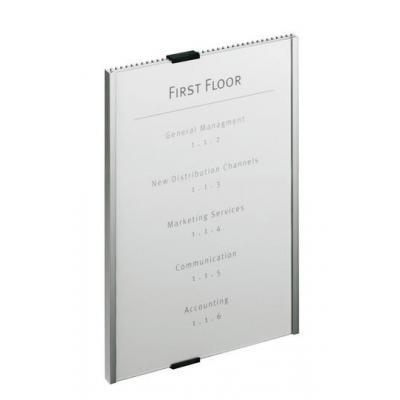 Durable naambord : Info Sign - Zilver