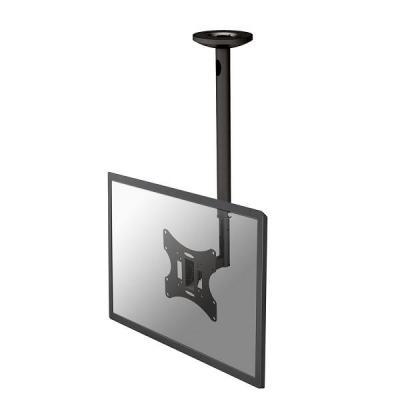 "Newstar flat panel plafond steun: De FPMA-C060BLACK is een plafondsteun voor flat screens t/m 40"" (102 cm) - Zwart"