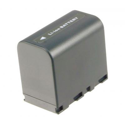 2-Power Camcorder Battery 7.2V 2400mAh - Zwart