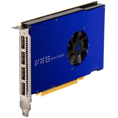 AMD RADEON PRO WX 5100 Videokaart - Blauw