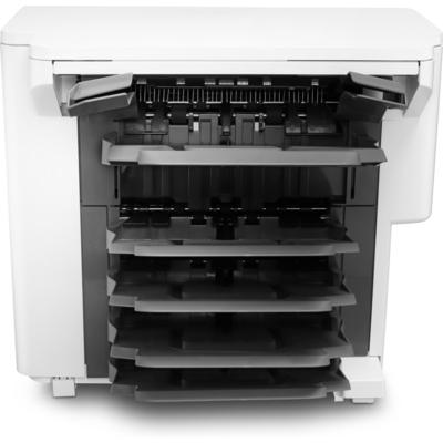 Hp papierlade: LaserJet nietmachine/uitvoer/sorteereenheid - Zwart, Wit