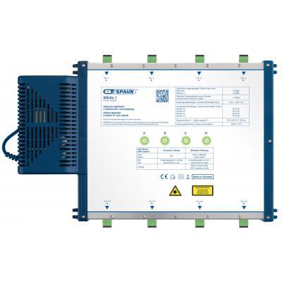 Spaun SOLVx 1 Fiber optic adapter - Blauw, Zilver