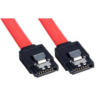 Lindy ATA kabel: SATA Cable, 0.5m - Rood