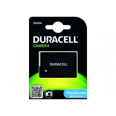 Duracell Camera Battery - replaces Panasonic DMW-BLD10E Battery - Zwart