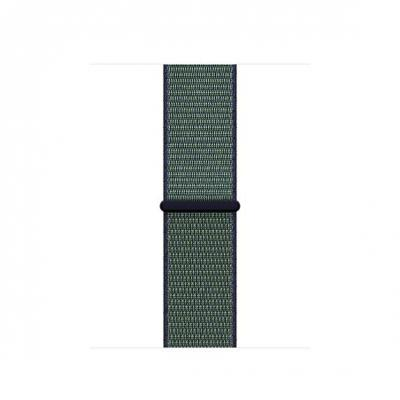 Apple : 38mm Midnight Fog Nike Sport Loop - Groen