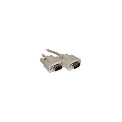 Intronics SCSI kabel: Seriële 1:1 aansluitkabel 9 pin D-sub male - 9 pin D-sub male