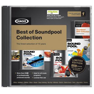 Magix audio software: Best of Soundpool DVD Collection