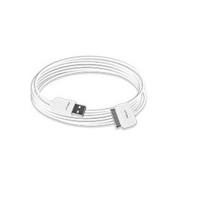 Pny kabel: 6ft(1.8m) Charge & Sync Cable - White - Wit