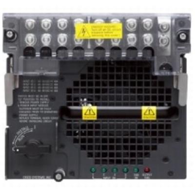 Cisco PWR-6000-DC switchcompnent - Zwart