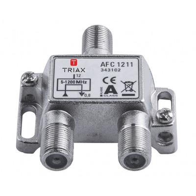 Triax kabel splitter of combiner: AFC 1211 - Metallic