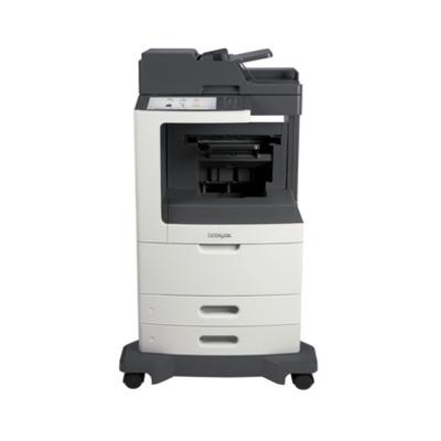 Lexmark MX812dfe Multifunctional - Zwart,Grijs