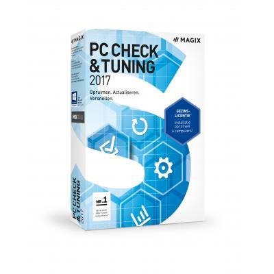 Magix algemene utilitie: Magix, PC Check + Tuning 2017