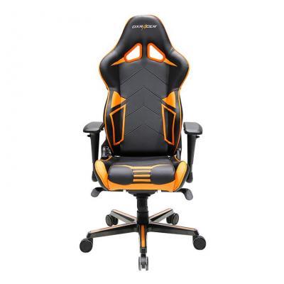 """Dxracer stoel: 90° 4D Arms, Multi-functional Mechanism, Carbon Look Vinyl & PU cover, 7.62 cm (3 """") PU Casters - Black ....."""