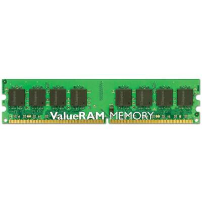 Kingston Technology RAM-geheugen: ValueRAM 1GB 667MHz DDR2 Non-ECC CL5 DIMM