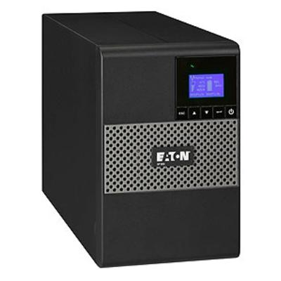 Eaton 850VA, 600W, 1 x C14, 6 x C13, 1 x USB, 1 x RS232, 1 x 1 mini-Terminal Block, LCD, Tower UPS - Zwart