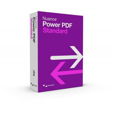 Nuance document management software: Power PDF Standard 2.0