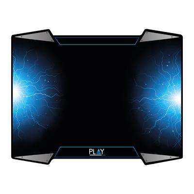 Ewent Play Gaming Mousepad Muismat - Zwart,Blauw,Zilver